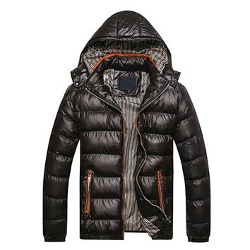 Winter Jacket Men Coat Slim Sportswear Outwear Chaquetas Hombre Parka Mens Coats Jackets Warm Thick