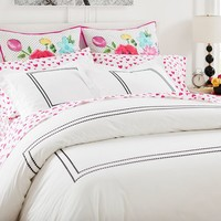 MayBaby Border Dot Duvet Cover + Sham