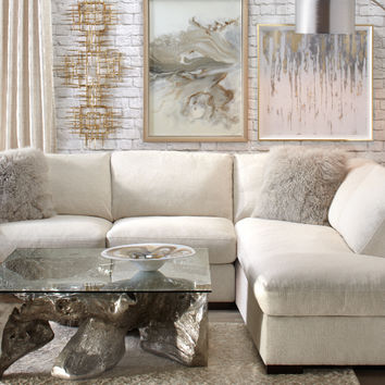 Natural Del Mar Living Room Inspiration look on @ZGallerie