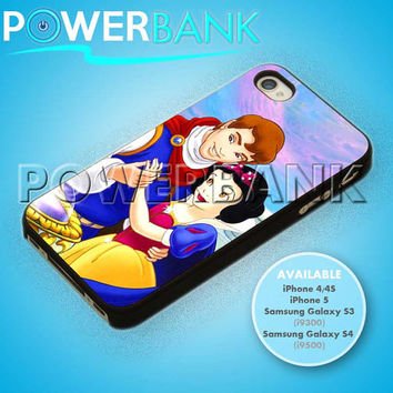 Romantic Disney Snow White - iPhone 4/4s/5 Case - Samsung Galaxy S3/S4 Case - Black or White