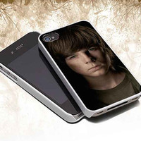 The Walking Dead Carl Grimes customized iphone 4/4s/5/5s/5c, samsung galaxy s3/s4/s5 and ipod touch 4/5 cases