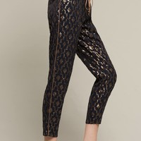 Siddah Sequin Trousers, Navy