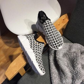qiyif Balenciaga Speed Line Woven Slip On Trainers