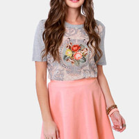 Any Way You Want It Pink Skater Skirt