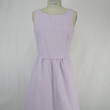 Seersucker Dress - Lilac