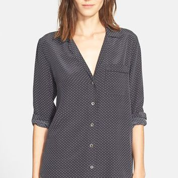 Women's Equipment 'Keira' Dot Print Silk Blouse,