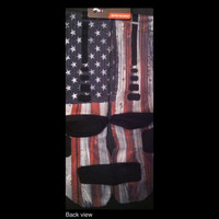 Old Glory USA flag Custom Nike Elites Vintage