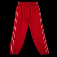 SUPREME PIPING TRACK PANT|FW17|RED