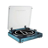 AT-LP60BL Fully Automatic Stereo Turntable in Blue || Audio-Technica US