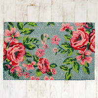 English Rose Door Mat - Urban Outfitters