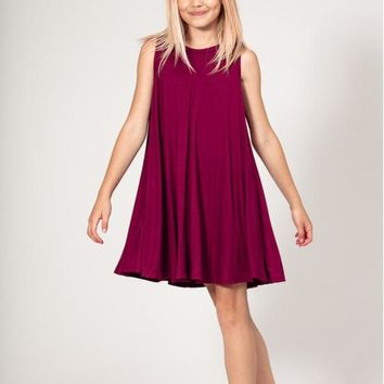 Girls Gameday Sleeveless Tunic Dress