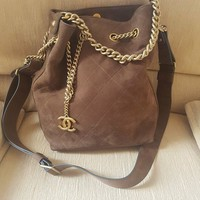 Chanel drawstring bag REDUCED TO SELL (RRP $6,220) RE
