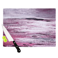 "Iris Lehnhardt ""Sea"" Pink Cutting Board"