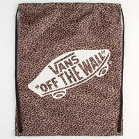 Vans Leopard Print Benched Cinch Sack Leopard One Size For Women 22945143501