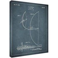 Replay Photos Framed 1925 Bow and Arrow Patent Art