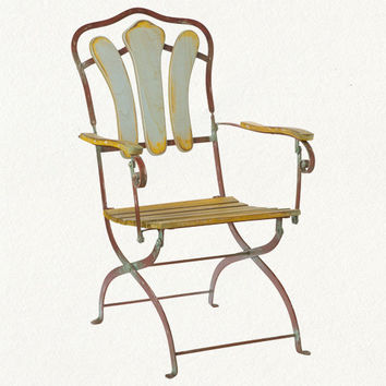 Terrain French Folding Chair $178