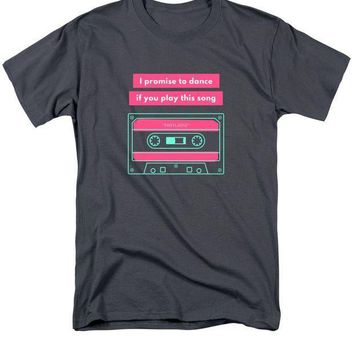 CREYM83 Cassette Tape Song And Dance - Men's T-Shirt  (Regular Fit)