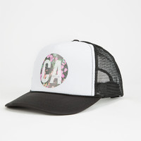 Rip Curl Paradise Cali Womens Trucker Hat Black One Size For Women 25111110001