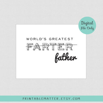 Funny Fathers Day Dad Birthday Card