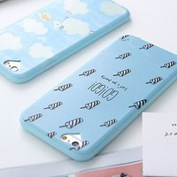 Printed Silicone Mobile Case - Apple iPhone 6 / 6 Plus