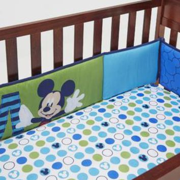Secure-Me Crib Bumper Pads - Mickey Mouse - Kmart
