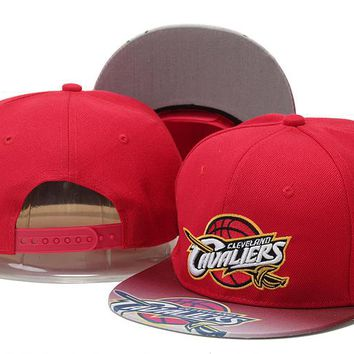 Perfect NBA Cleveland Cavaliers Snapback hats Women Men Embroidery Sports Sun Hat Baseball Cap Hat