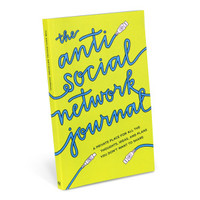 Anti-Social Network Journal by Knock Knock