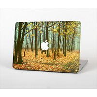 The Subtle Gold Autumn Forrest Skin Set for the Apple MacBook Air 11""