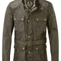 Belstaff Men's Roadmaster Jacket – Olive | Country Attire