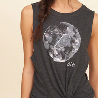 Astrology Graphic Muscle Tank