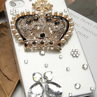An crown case  loves iphone case  iPhone case iPhone 4 case iPhone 4s case iPhone cover
