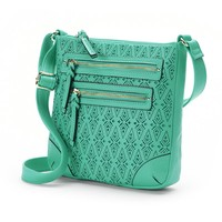 Apt. 9 Bailey Laser-Cut Crossbody Bag