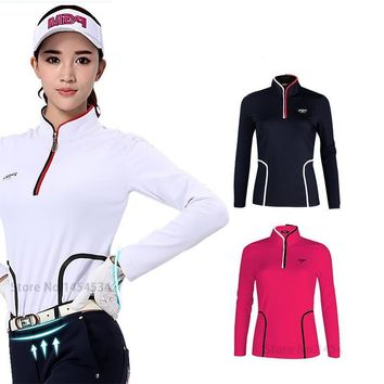 T-shirt Top Girls Golf Polo Shirts Women