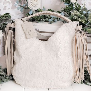 Wild Ones Naughty Monkey Bag (Cream)