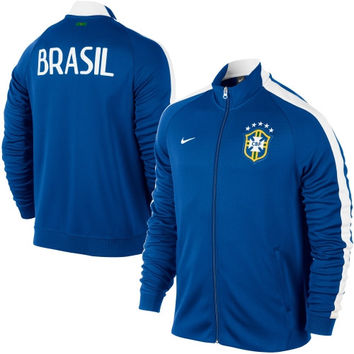 Nike Brazil N98 Full Zip Track Jacket - Royal Blue