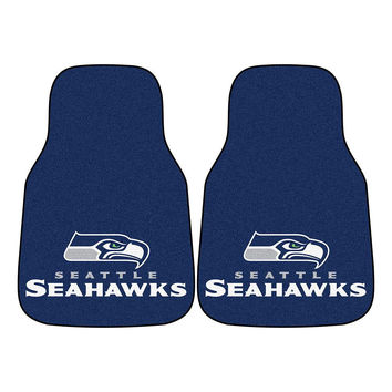 Seattle Seahawks NFL Car Floor Mats (2 Front)