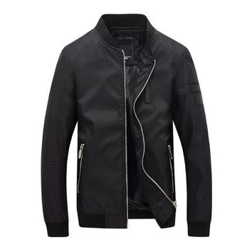 The Cadet Bomber Jacket Black