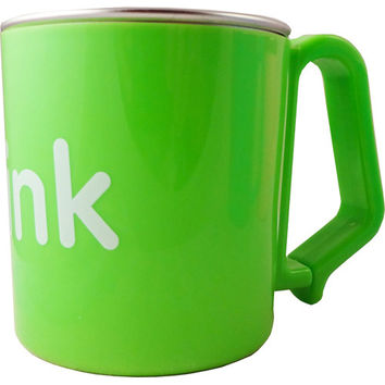Thinkbaby Cup  Kids  Bpa Free  Green  8 Oz