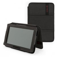 Timbuk2 Gripster Jacket Case with stand functionality, Black Faux Leather (will not fit HD or HDX models)