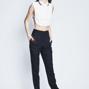 High-Waisted Pencil Pants