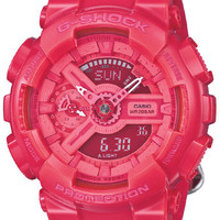 Casio G-Shock S Series - Pink Case and Strap - World Time - Anti-Magnetic