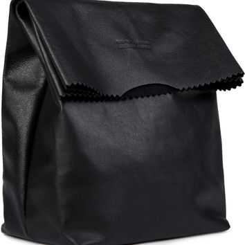Stampd Black Medium Bodega Bag