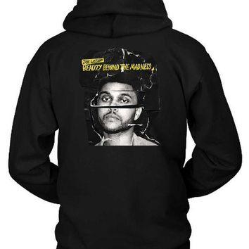 The Weeknd Beauty Behind The Madness Photo Cover Hoodie Two Sided
