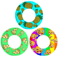 3 Pack of Flonuts Pool Inflatables