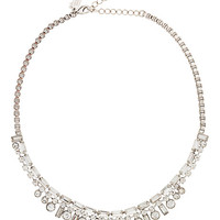 Kate Spade Clink Of Ice Necklace Clear ONE