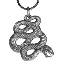 Sterling Silver Snake Pendants!
