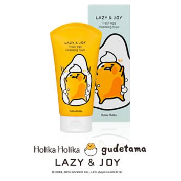 [Holika Holika] Fresh Egg Cleansing Foam (Gudetama Edition)