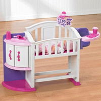 Baby Dolls Very Own Toy Nursery Play Set Changing Station