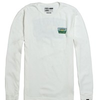 Vans Off The Trail Long Sleeve T-Shirt - Mens Tee - Eggshell