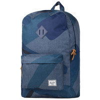 Herschel Supply Co.: Heritage Backpack - Navy Portal / Navy Rubber